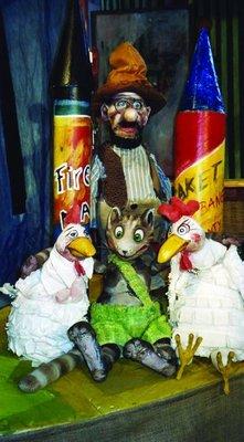 Bild: Petterssons Feuerwerk für den Fuchs - Marotte Figurentheater