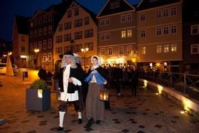 Bild: Weihnachtliche Stadt(Ver)Führung 2018 - Kostümführung