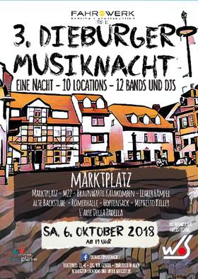 Bild: 3.Dieburger Musiknacht - 1 Nacht 10 Locations 12 Bands & DJS