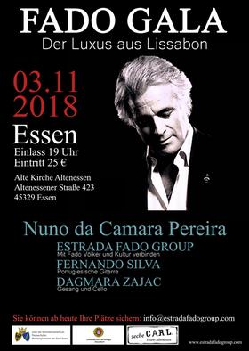 FADO GALA - mit: Nuno da Camara Pereira, Fernando Silva u.a.