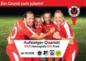 Bild: Aufsteiger-Quartett