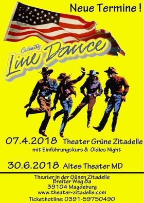 Line Dance - mit Einführungskurs & Line Dance Party