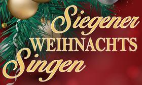 Bild: 1. Siegener Weihnachtssingen                                      -Das Mitsingevent zur Weihnachtszeit