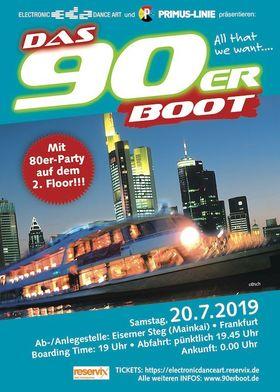 DAS 90erBOOT - Das 90erBoot V im Juli 2019