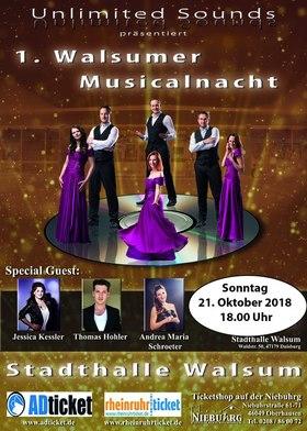 Bild: 1. Walsumer Musicalnacht - Unlimited Sounds präsentiert