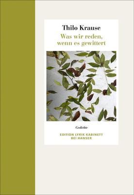 Bild: Thilo Krause liest aus seinem neuen Gedichtband