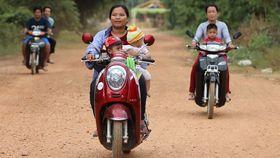 Bild: Vietnam & Kambodscha - Cyclos, Dschunken, Motorroller
