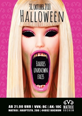 Halloween 2018 - Barbies Unknown Faces