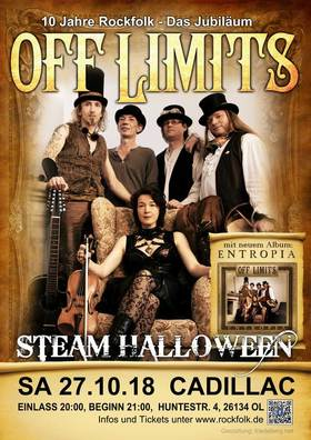 Steam Halloween mit Off Limits & Friends