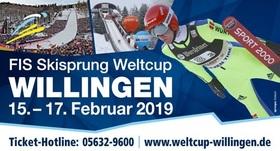 Bild: FIS Skisprung Weltcup Willingen 2019 - Einzel-Weltcup