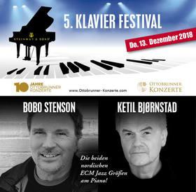 """Bild: BOBO STENSON & KETIL BJØRNSTAD """"European Jazz-Piano-Masters"""""""