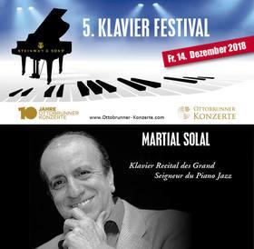"Bild: MARTIAL SOLAL""Horowitz des Jazz-Piano"""