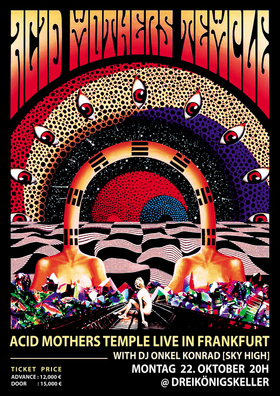 Bild: ACID MOTHERS TEMPLE - Psychedelic Acid Space Rock Legende aus Japan