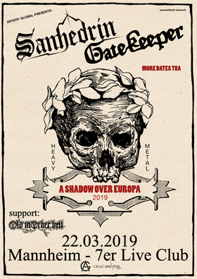 Bild: Sanhedrin + Gatekeeper - A Shadow Over Europe 2019