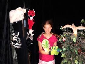 Bild: Wir machen Puppentheater