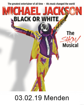 Bild: Black or White - A Tribute to Michael Jackson - The Show Musical