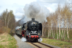 Bild: Dampfsonderzug FD Thüringer Land