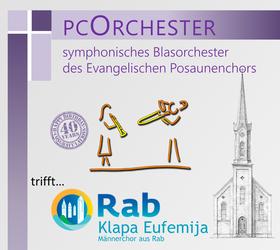 Bild: pcOrchester trifft Rab, Klapa Eufemija
