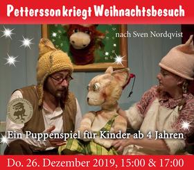 Bild: Pettersson kriegt Weihnachtsbesuch
