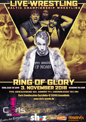 Bild: Wrestling Live - Ring of Glory 2018