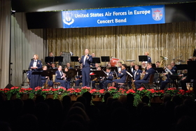 Weihnachtskonzert der U.S. Air Force in Europe Band