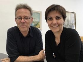 Bild: Jeux à deux - Von den griechischen Inseln nach Santa Fe - Chrysanthie Emmanouilidou & Hans Fuhlbom an zwei Klavieren