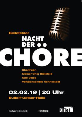 Bild: Bielefelder Nacht der Chöre - Mit: ChoriFeen // Kleiner Chor Bielefeld // One Voice // Vokalensemble Sennestadt