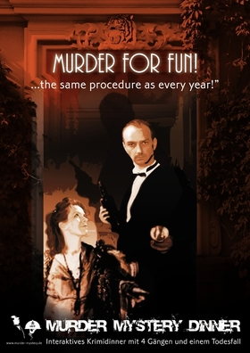 Bild: Murder Mystery Dinner - Murder For Fun... the same procedure as every year - Interaktives Krimidinner mit 4 Gängen und einem Todesfall