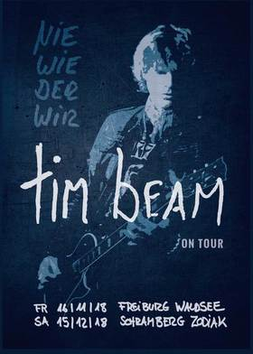 Bild: TIM BEAM - NIE WIEDER WIR TOUR - Support: The Finer Stuff