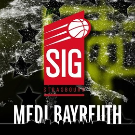 Bild: medi bayreuth vs. SIG Strasbourg