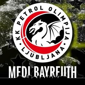Bild: medi bayreuth vs. Petrol Olimpija