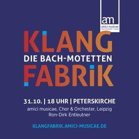 Bild: KLANGFABRIK - Die Bach-Motetten