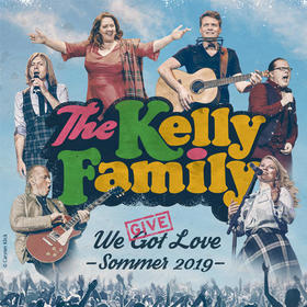 Bild: THE KELLY FAMILY - We Give Love - Sommer 2019