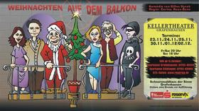 Bild: Weihnachten auf dem Balkon - Kellertheater Grafenhausen