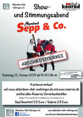 Bild: Alpenland Sepp & Co - Abschiedstournee - Show- und Stimmungsabend