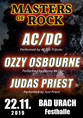 Bild: MASTERS OF ROCK - A Tribute to AC/DC & JUDAS PRIEST & OZZY OSBOURNE