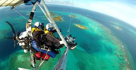 Bild: Abgeflogen - Trike Globetrotter auf Stippvisite in Leer