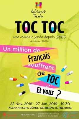 Bild: Patchwork Theater spielt TOC TOC : eine Komödie in französischer Sprache