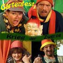 Bild: Gartenfest - ein Krieg der Zwerge - Carola Bläss & Kersten Liebold