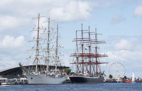 Bild: Zur 29.Hanse Sail nach Rostock und Warnemünde