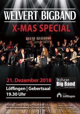 Bild: Welvert Big Band X-mas Special