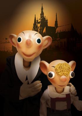 Bild: Spejbl & Hurvinek - Zu zweit geht alles besser - Kinder- und Familienshow