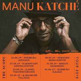 Manu Katché - The Scope Tour 2019
