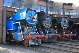 Bild: Zum 11.Dampfloktreffen nach Dresden