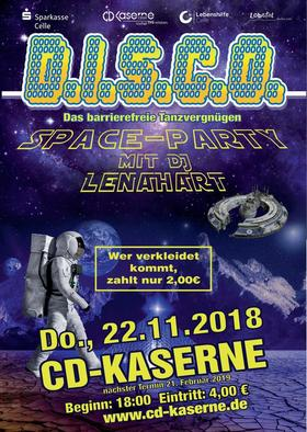 Bild: D.I.S.C.O. - Space-Party