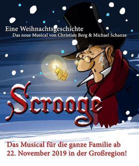 Bild: Scrooge - eine Weihnachtsgeschichte - Das neue Weihnachtsmusical für die ganze Familie