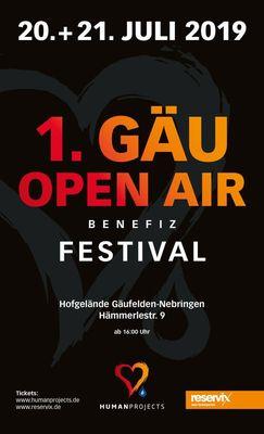 Bild: Kombiticket 1. Gäu Benefiz Openair Festival