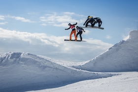 Bild: FIS Snowboard Cross Weltcup Feldberg