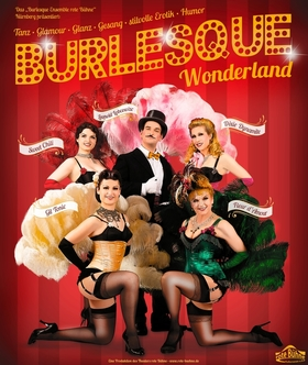 Bild: Burlesque-Ensemble rote Bühne: Burlesque Wonderland
