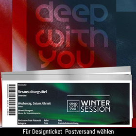 Bild: deep with you winter open air session